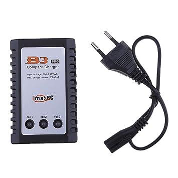 IPOTCH Cargador De Equilibrio De Batería para 7.4v 11.1v 2s 3s 110-240v RC Modelo EU Plug