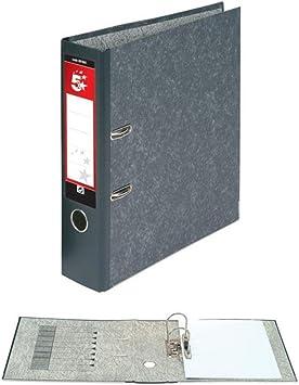 blanco 5 Star 933112 Paquete de 10 archivadores con anillas A4