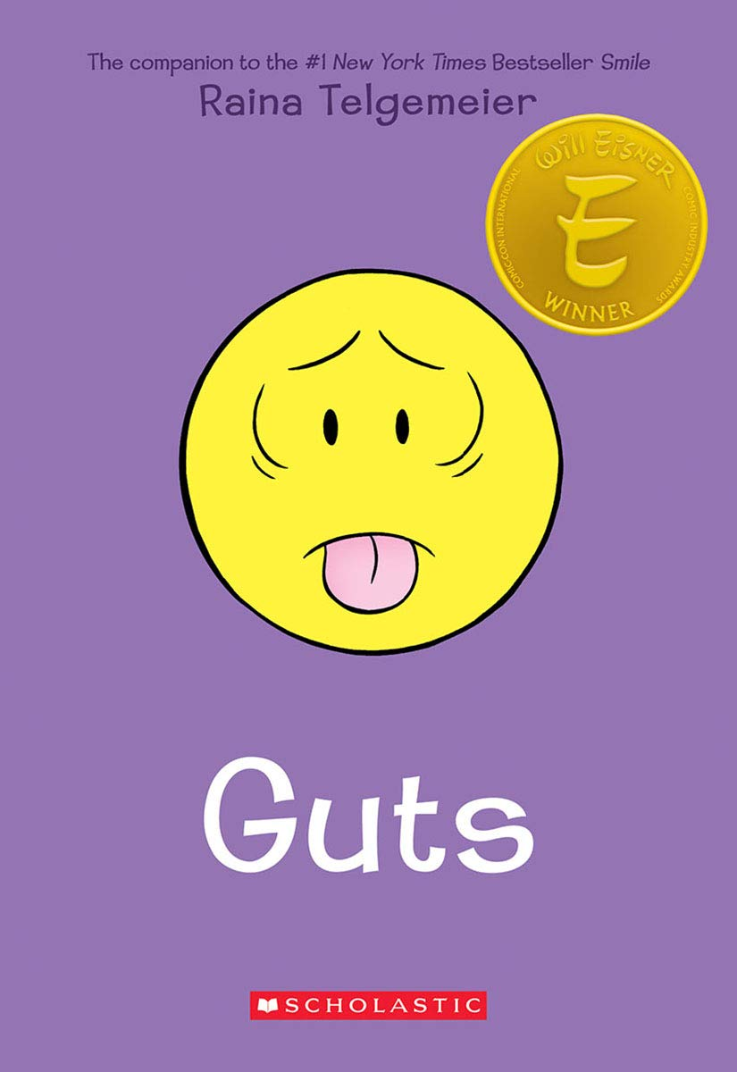 Guts: Amazon.co.uk: Telgemeier, Raina: Books