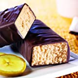 Prolinea - Barres Coco Banane riches en protéines Sans Gluten