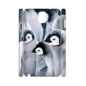 Diy Cute Penguin Phone Case for samsung galaxy note 3 3D Shell Phone JFLIFE(TM) [Pattern-2] hjbrhga1544