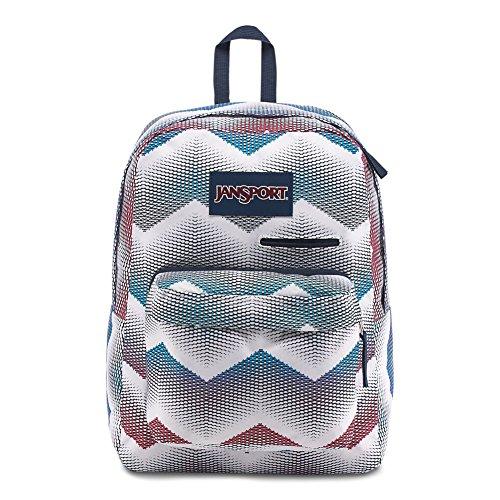 ead721405618 JanSport Jansport Digibreak Laptop Backpack - Matrix Chevron White