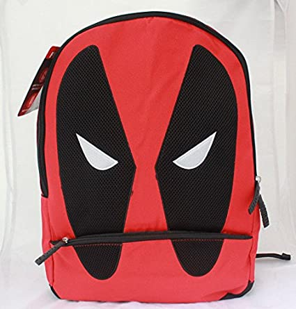 3816bf728b38 Image Unavailable. Image not available for. Color  Marvel Deadpool Men  Women Laptop Tablet School travel Backpack Book bag Boys