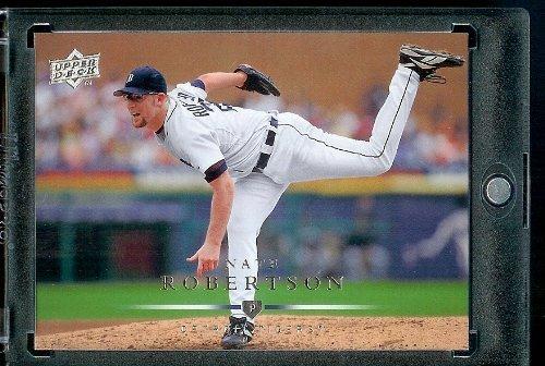 2008 Upper Deck Baseball Card #490 Nate Robertson