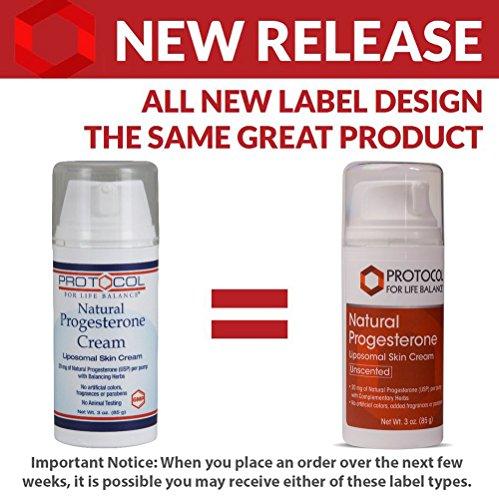 Protocol For Balance - Natural Cream - Liposomal with Balancing Herbs - 3
