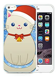 Recommend Design iPhone 6 Plus Case,Christmas snowman Cat White iPhone 6 Plus 5.5 TPU Case 1 by icecream design