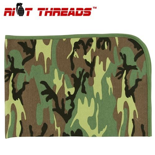 Woodland Camouflage Receiving Blanket - 2