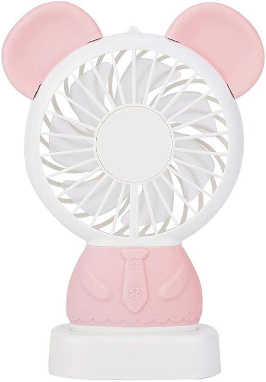 Mini ventilador portátil recargable Usb Fan de carga Ventilador ...