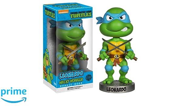Funko - Wacky Wobbler - TMNT - Leonardo: Funko Wacky Wobbler ...