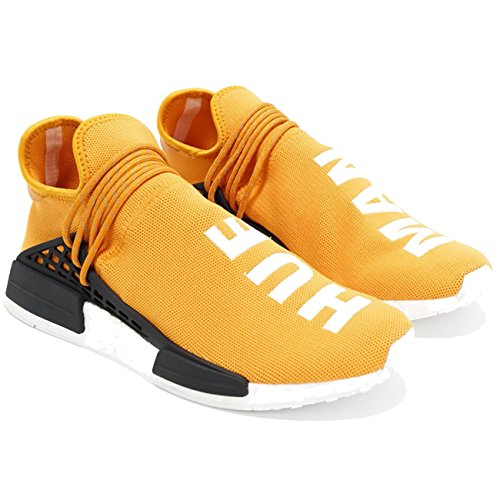 Man Men Shoes Lightweight Women Breathable Tangerine Human Hue Race Fashion Casual Trail Sneaker UqFwURp