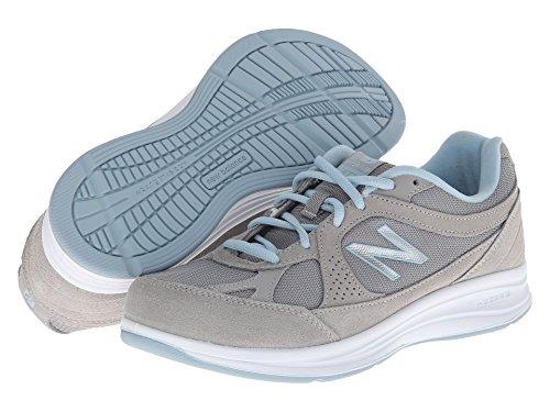 (ニューバランス) New Balance レディースウォーキングシューズ?靴 WW877 Silver 10.5 (27.5cm) B - Medium