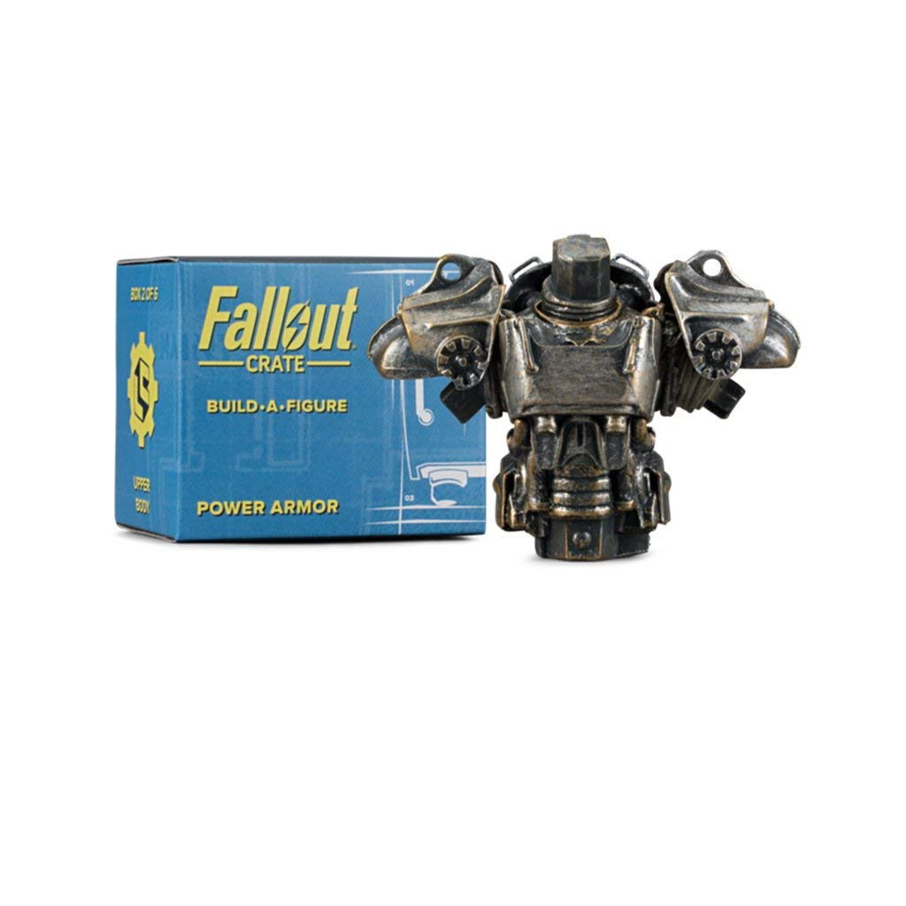 Loot Crate Fallout Power Armor Base and Head Figure Piece