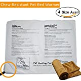 Baezi Chew Resistant Pet Heating Pad Fit Pet Bed – Pet Warmer with Coral Velve Cover