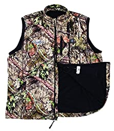 Flambeau Men\'s Heated Vest, Large, Camo