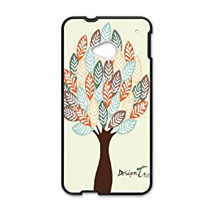 Design Tree Pattern Phone Case - Perfectly Match To HTC One M7 - By Coco Nuts Cases