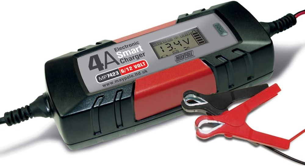 4A Smart Battery Charger 6V//12V Lead-Acid AGM Car for Jaguar XF