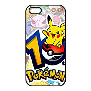 Pokemon Lovely Pikachu Cell Phone Case for iPhone 5S by lolosakes