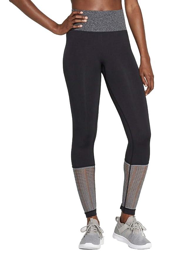 de5e78f0a9f274 JoyLab Women's 7/8 Seamless Two Tone High-Waisted Leggings - at Amazon  Women's Clothing store: