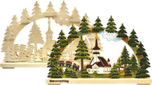 Unbekannt Holz Bastelset 3 D Laubsäge Schwibbogen Wald