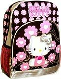 Hello Kitty Black Backpack