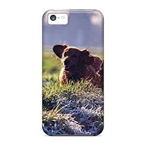 linJUN FENGAwesome Case Cover/iphone 6 plus 5.5 inch Defender Case Cover(gordon Setter Running Field)