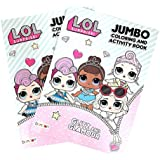 L.O.L Surprise! LOL! 80PG Coloring Book-1 Pc, Multicolor