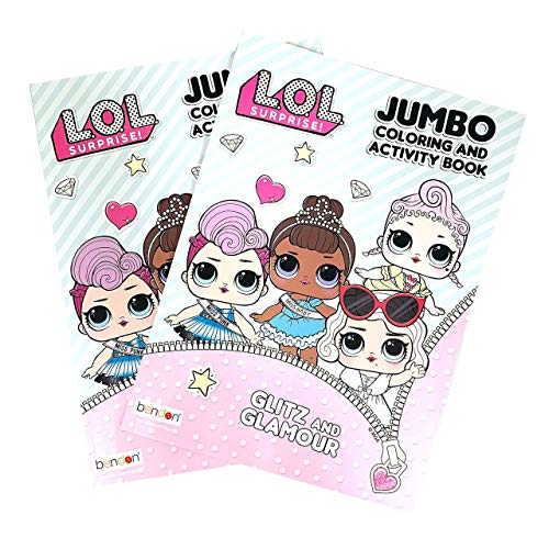L.O.L Surprise! Jumbo Coloring Book Only $4.90