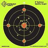 Splatterburst Targets - 8 inch Bullseye Reactive