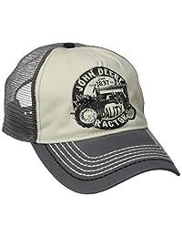 John Deere Men's Vintage Tractor Mesh Back Cap