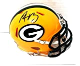 Aaron Rodgers Autographed Green Bay Packers Mini Helmet