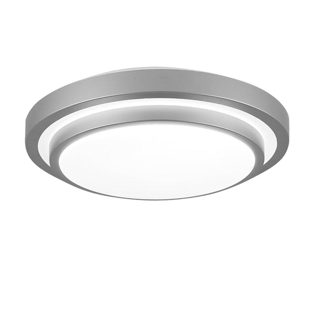 960LM 12W Ampoules Equivalent 80W Incandescent Plafonnier LED pour cuisine Salle /à manger Salle de bain 22W Fluorescent /Éclairage /à encastrer rond ZHMA Plafonnier /à encastrer LED