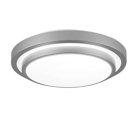ZHMA Lámpara de techo empotrada LED, 12W, Lámpara de techo hueca, Lámpara de panel LED resistente al agua, Blanco frío, Iluminación para sala de ...
