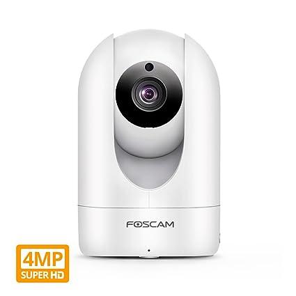 Amazon Foscam Super HD 488K 48MP WiFi Video Security IP Camera Simple Exterior Cameras Home Security Minimalist Collection