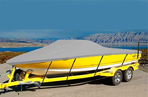7oz Solution Dyed Polyester Material Custom Exact FIT Boat Cover Correct Craft Sport NAUTIQUE I/O W/SWPF 1993