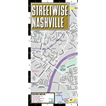 Streetwise Nashville Map - Laminated Center City Street Map of Nashville, Tennessee