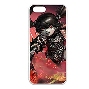 Poppy-003 League of Legends LoL cover for Apple iPhone 5/5S Cover - Hard White