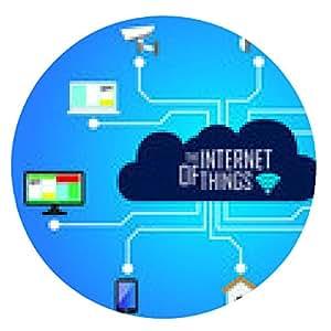 alfombrilla de ratón El Internet de las cosas - ronda - 20cm