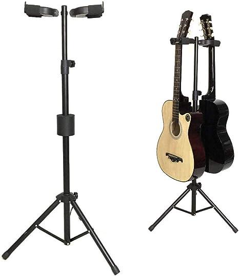 Soportes De Guitarra De Doble Cabeza Soportes MúLtiples Ajustables ...