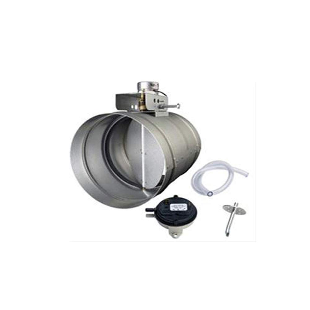 "Broan 8"" Universal Automatic Make-Up Air Damper with Pressure Sensor Kit"