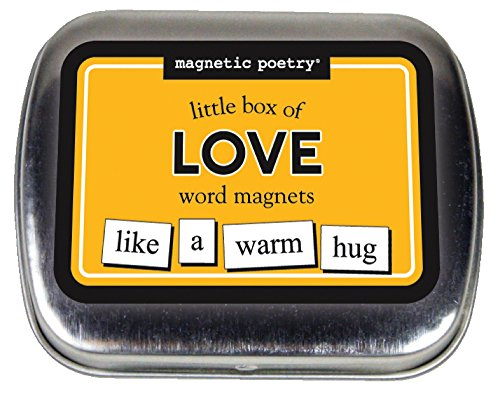 Magnetic Poetry - Little Box of Love Kit - Words for Refrigerator - Write Poems and Letters on the Fridge - Made in the USA - Love Refrigerator Magnet