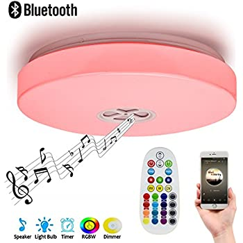 Autai Ceiling Light 24W RGB Color Changing Dimmable with Smart ...