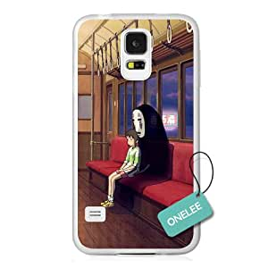 Onelee(TM) Japanese Anime Spirited Away Samsung Galaxy S5 Case & Cover - Transparent 15