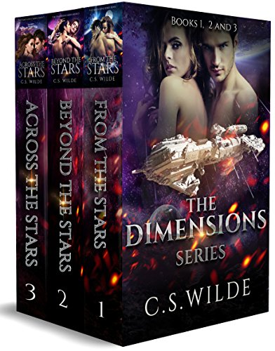 The Dimensions series Volumes 1-3: an epic alien romance adventure