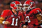 Aaron Murray and Todd Gurley Autograph Replica Poster - Georgia Bulldogs