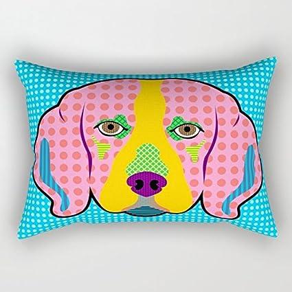 Bestseason - Funda de almohada de Navidad para perros, 30,5 x 50,