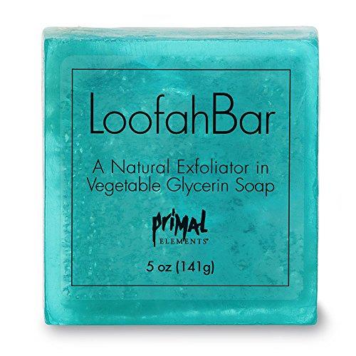 - Primal Elements Facets of the Sea 5.0 Oz. Loofah Glycerin Bar Soap