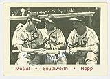 Stan Musial AUTOGRAPH d.13 TCMA 1942-1946 St. Louis St. Louis Cardinals