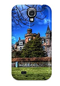 Hot YEneXom12711IFLXV Castle Tpu Case Cover Compatible With Galaxy S4