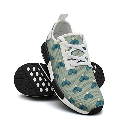 Sneakers Bee Breathable Mesh Friendly Sneaker Fashion Womens FAAERD Geometric Cool Lightweight Shoes 5wZTIqFxA