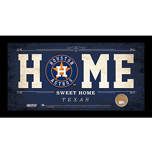 mlb-houston-astros-home-sweet-home-sign-with-game-used-dirt-from-minute-maid-park-6-x-12-blue